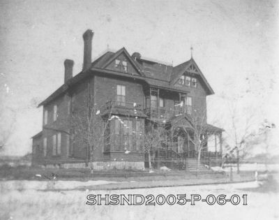 Asa Fisher home circa 1884
