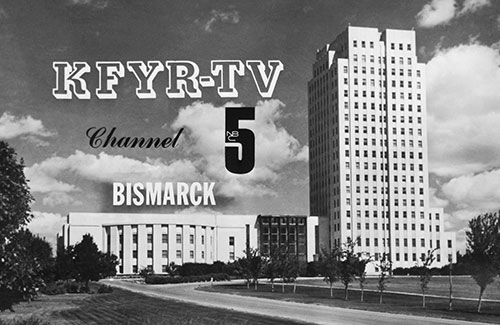Image of the Capital in Bismarck, ND with KFYR-TV Channel 5 logo.